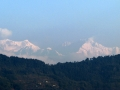 Mt Kanchenjungha from Chaaya Taal