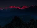 Mt Kanchenjungha from Reesum Monastery