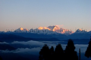 Mt. Kanchenjunga from Jorpokhri