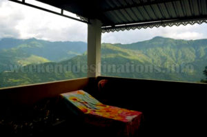 Pedong Homestay view