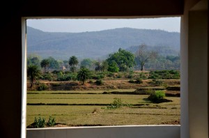 View from Ayodhya Hills Homestay