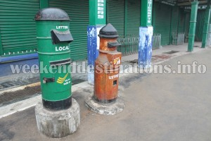 Post Boxes at Mall, Darjeeling