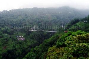 Singshore bridge near Kaluk