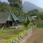 Tikarpada tents