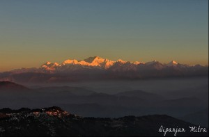 View from Tiger Hill, Darjeeling