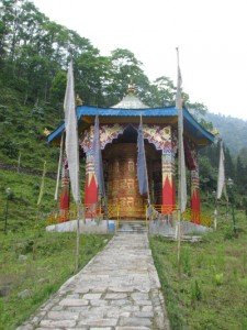 World's largest prayer wheel