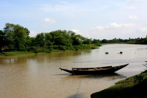 Bagda River beside Monchasa