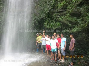 jhakhri falls at kagay