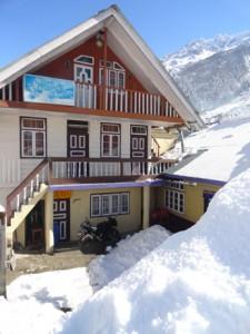 Hotel at Lachung
