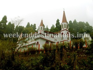 St. Pauls Church at Kurseong