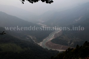 View of Teesta from Mangerjang