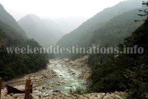 River Teesta, Tingchim