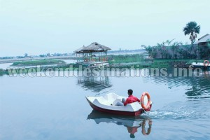 Boating at Agarhati
